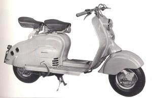 La Lambretta LD del 1952