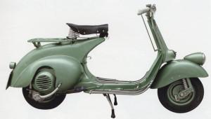 La Vespa I serie, dal 1950 al 1952